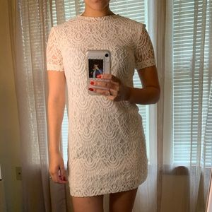 White Lace Forever 21 Dress